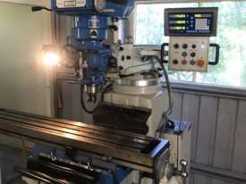 Turret milling machine  - picture1' - Click to enlarge
