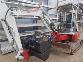 USED TAKEUCHI TB138FR EXCAVATOR WITH LOW HOURS - picture0' - Click to enlarge