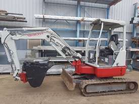 USED TAKEUCHI TB138FR EXCAVATOR WITH LOW HOURS - picture1' - Click to enlarge