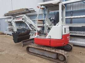 USED TAKEUCHI TB138FR EXCAVATOR WITH LOW HOURS - picture2' - Click to enlarge