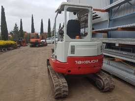 USED TAKEUCHI TB138FR EXCAVATOR WITH LOW HOURS - picture3' - Click to enlarge