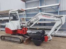 USED TAKEUCHI TB138FR EXCAVATOR WITH LOW HOURS - picture12' - Click to enlarge