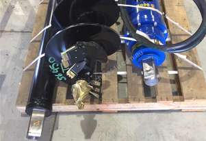 New Auger Torque Auger Earth Drill Bits with Tungsten Teeth and Pilot to suit 1.7-30.0T Excavators