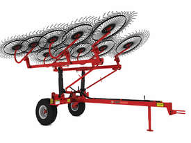 2018 AGROMASTER OTT 120-1 TWELVE WHEEL TRAILING HAY RAKE (7.4M CUT) - picture0' - Click to enlarge