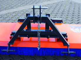 Tuchel Solo Bucket Broom Angle Road Sweeper for Forklifts and Excavators - picture1' - Click to enlarge