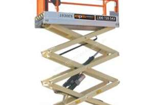7.5m Electric Scissor Lifts available for Hire