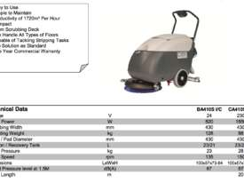 Nilfisk Electric Scrubber CA410  - picture3' - Click to enlarge
