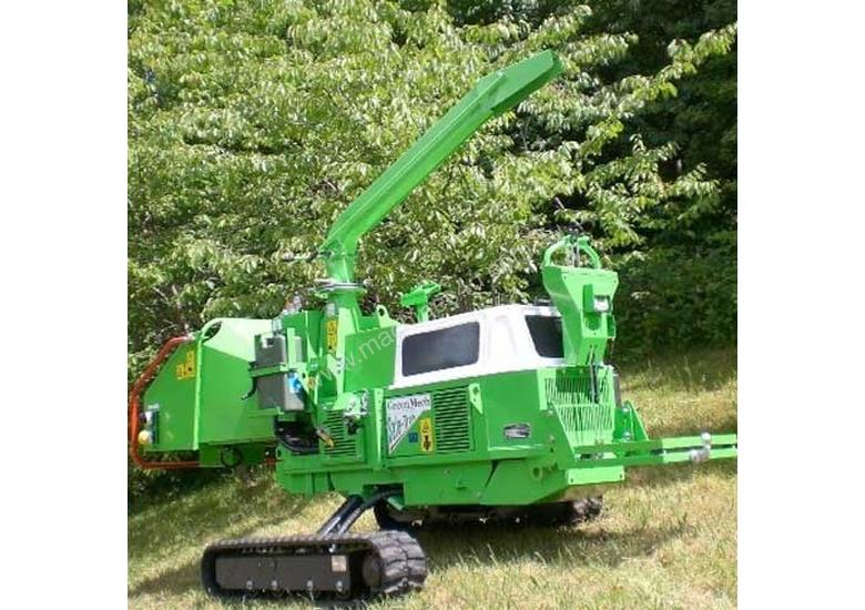 Greenmech Safe-Trak 19-28 Wood Chipper Forestry Equipment
