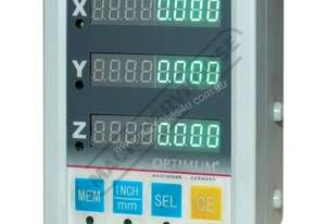 DR03 3-Axis Optimum Digital Readout Counter - 1µm  Suits Lathes & Mills