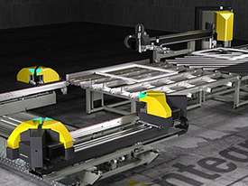 Integra 4H Corner Welding and Cleaning Line for PVC - picture1' - Click to enlarge
