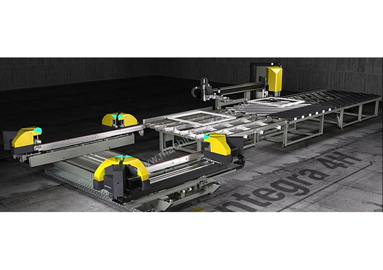 Integra 4H Corner Welding and Cleaning Line for PVC