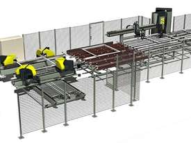 Integra 4H Corner Welding and Cleaning Line for PVC - picture0' - Click to enlarge