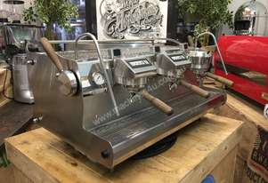SYNESSO SABRE HYDRA HYBRID 3 GROUP STAINLESS ESPRESSO COFFEE MACHINE CAFE LATTE