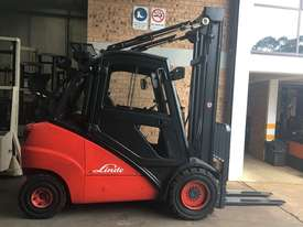 FORKLIFT-LINDE H35T 4.5m Side Shift New Tires Great Air Con Clean Smooth  - picture1' - Click to enlarge