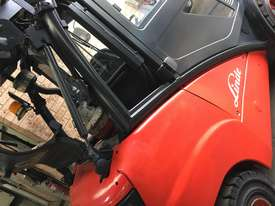 FORKLIFT-LINDE H35T 4.5m Side Shift New Tires Great Air Con Clean Smooth  - picture5' - Click to enlarge