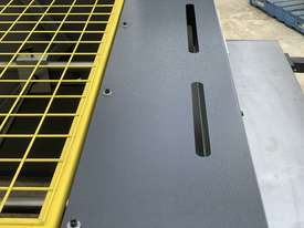 1300mm x 4mm Euro Power Guillotine with Front Scrap Chute - Volt - picture3' - Click to enlarge