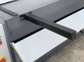 1300mm x 4mm Euro Power Guillotine with Front Scrap Chute - Volt - picture7' - Click to enlarge