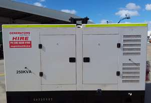 Price drop $10,000 Used Low Hours 250 KVA Generator 250KVA