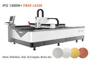 IPG 1500W Economical 1.3x2.5m All Metal cutting Fiber Laser - Delivery/install included!