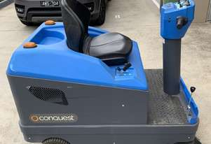 Conquest Equipment Ride on Electric Sweeper