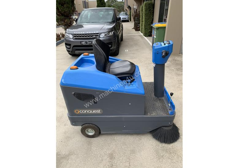 Ride on Electric Sweeper