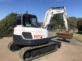 BOBCAT E80 8.4T Hydraulic Excavator A/C Cab with 1500mm Mud Bucket - picture2' - Click to enlarge