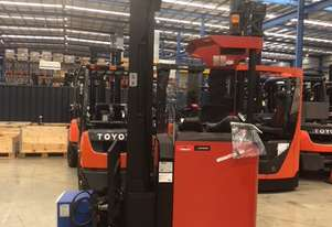 BT RRM16 REACH TRUCK LOW 775 HOURS 7500MM