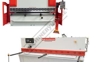 SG-3206E & PB70B Hydraulic NC Guillotine & NC Pressbrake Package Deal Guillotine 3200 x 6mm, Pressbr