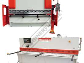 SG-3206E & PB70B Hydraulic NC Guillotine & NC Pressbrake Package Deal Guillotine 3200 x 6mm, Pressbr - picture0' - Click to enlarge