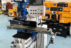 PUMA X6323B TURRET MILLING MACHINE | 3 PHASE | DIGITAL READOUT | 230 X 1246MM TABLE