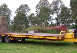 Tandem axle Beaver tail Trailer