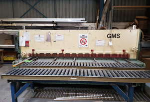 Metal Guillotine 6.5mm x 3050mm excellent condition