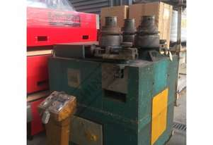 HPK-100 Section & Pipe Rolling Machine 100 x 100 x 12mm Angle Capacity Includes Digital Readout Disp
