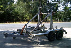 cable drum trailer , self loader , 2,000Kg ATM