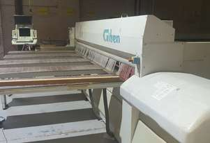 Giben Beam Saw 4.5m wide 100mm book height, front loading