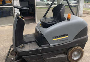 Karcher Industrial Ride-on Floor and Vacuum Sweeper for sale!