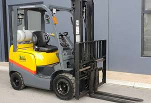 TCM 1800kg LPG Forklift with 3520mm Two Stage Mast