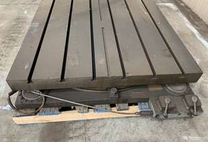 Airlift T-slotted table 1200mm x 1200mm