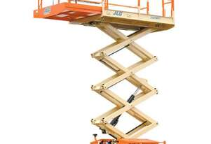 Hire - Scissor Lift 26ft Rough Terrain Diesel