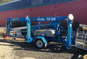 Genie TZ50 - 50ft Trailer Mounted Boom Lift