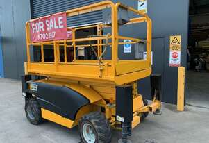 Used 2004 Haulotte Compact 10DX 26ft All Terrain Scissor Lift