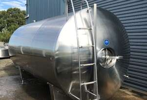 11,600ltr Jacketed Food Grade Tank