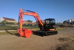 Kubota 8t Excavators for Hire Perth