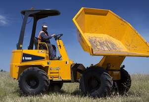 6 Tonne Site Dumpers and Front Tippers For Hire