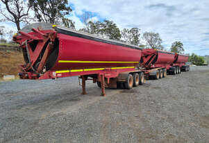 Azmeb R/T Combination Side tipper Trailer