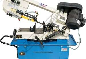 BS-7L Metal Cutting Band Saw - Swivel Vice Mitre Cuts Up To 45º & Includes Hydraulic Downfeed Contr