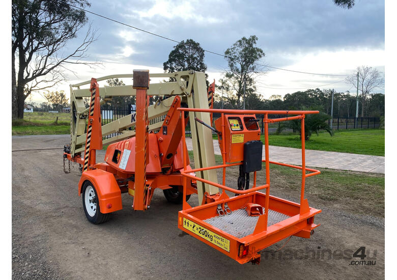 JLG K13 Boom Lift Access & Height Safety