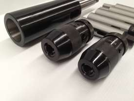 8 Pce. MT4 - Drill Chuck, Sleeves & Arbor Set. - picture3' - Click to enlarge