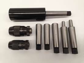 8 Pce. MT4 - Drill Chuck, Sleeves & Arbor Set. - picture4' - Click to enlarge
