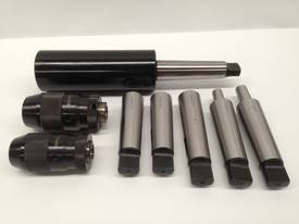 8 Pce. MT4 - Drill Chuck, Sleeves & Arbor Set. - picture5' - Click to enlarge